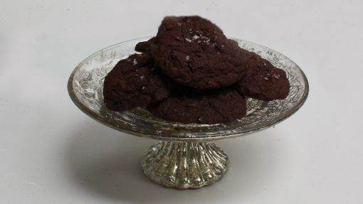 Chocolate & Sea Salt Cookies