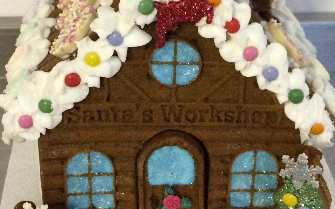 Gingerbread House decorating Workshops 2018